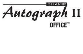 Shamir Autograph II - Office™